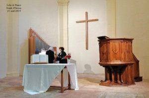 L'Église protestante unie de France d'Orange a repris son activité.