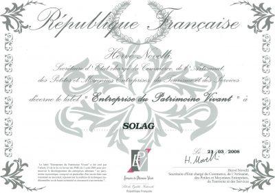 Label EPV 2008 - SOLAG