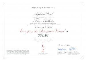 Label EPV 2013 - SOLAG