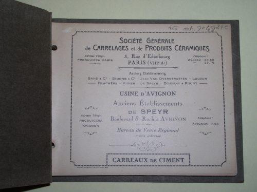 Historique Carreau ciment - SOLAG
