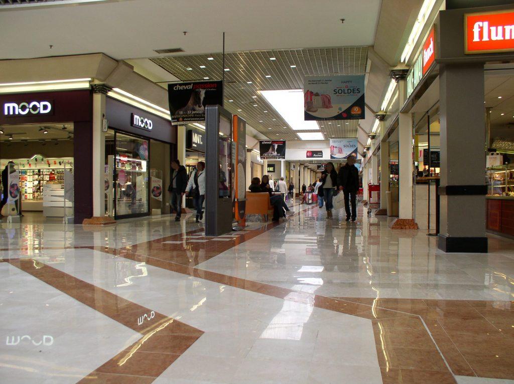 Fin de chantier Auchan - Restauration marbre