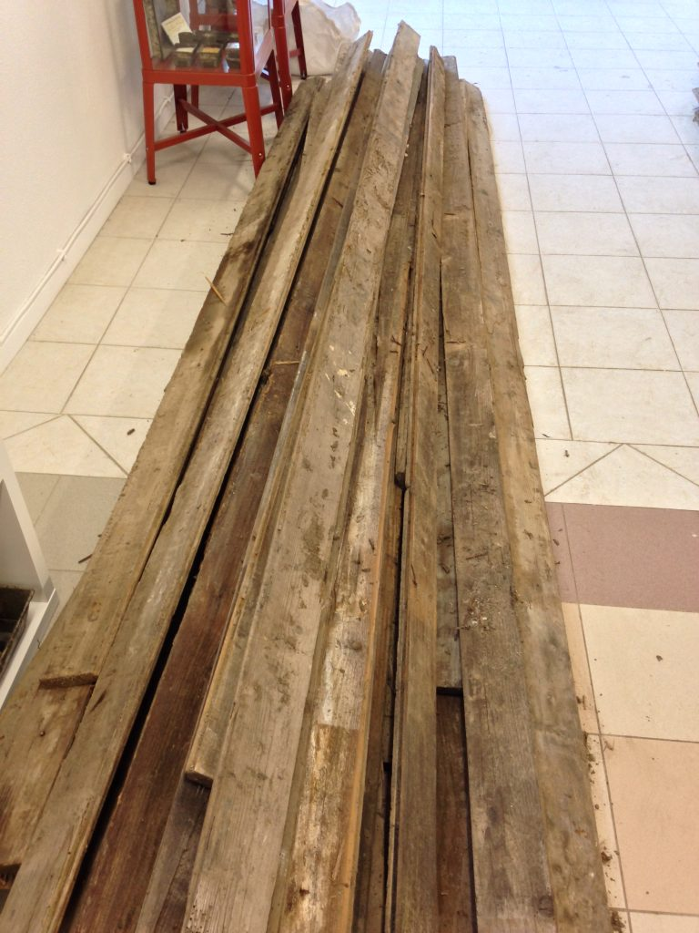 parquet pin ancien - SOLAG