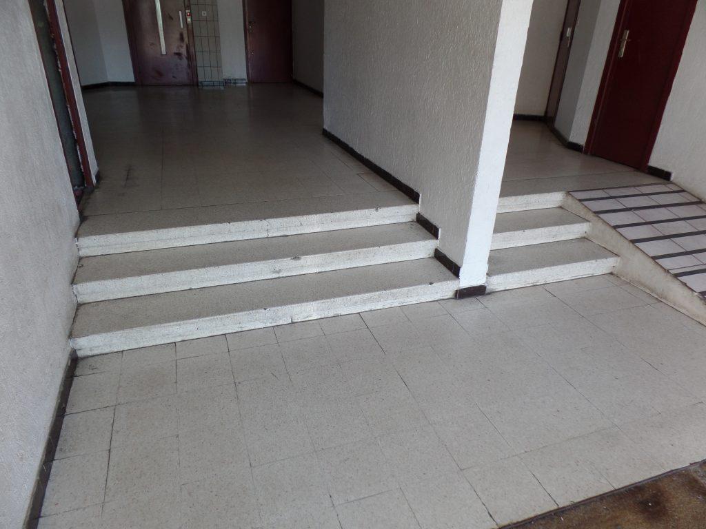 restauration hall d'entrée en granito - avant - SOLAG
