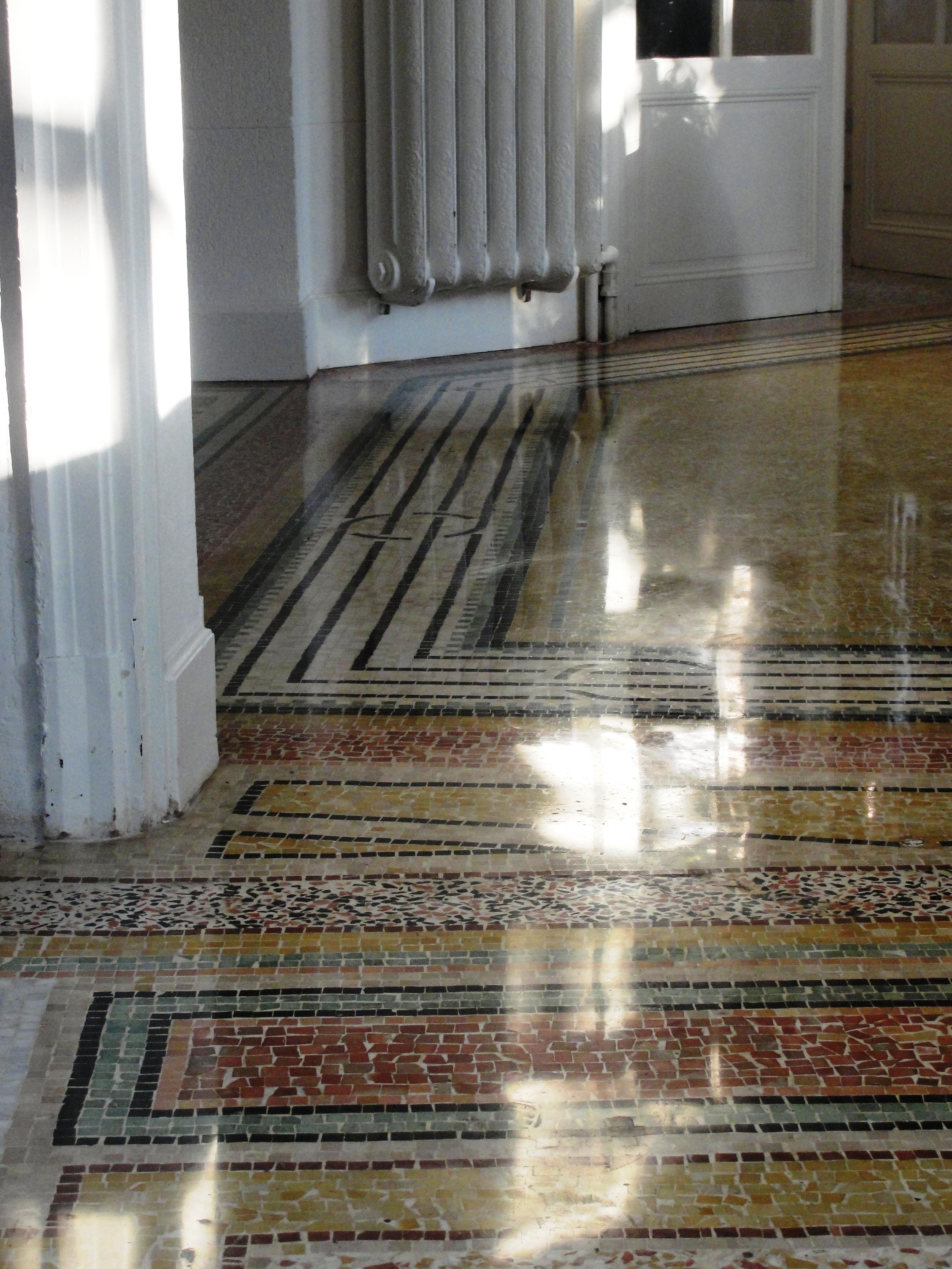 Mosaïque ancienne restaurée - SOLAG
