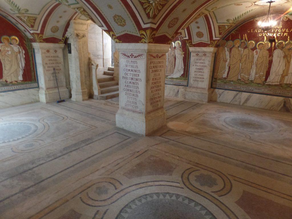 Mosaïques Lyon Antiquaille - Avant SOLAG