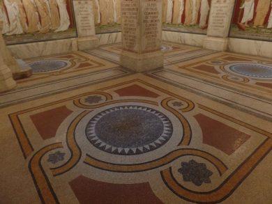 Mosaïques Lyon Antiquaille restaurées par SOLAG