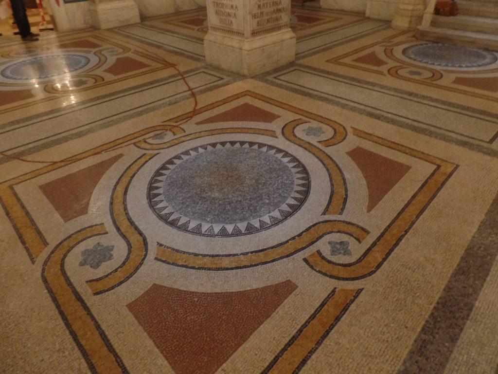 Mosaïques Lyon Antiquaille - après SOLAG