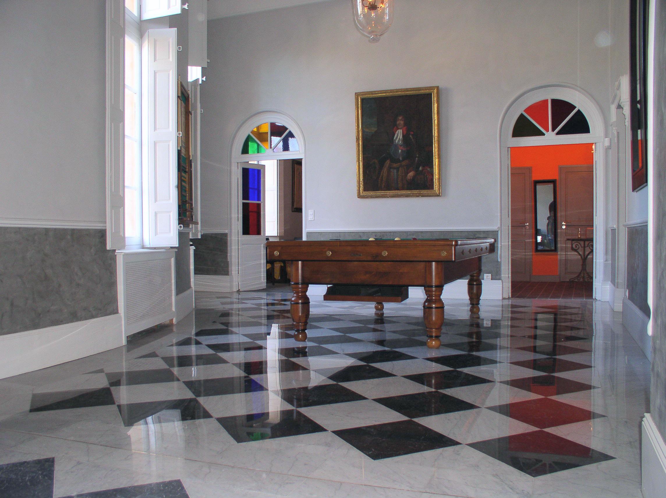 Restauration de marbre