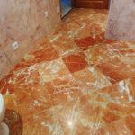 Avant conservation de marbre