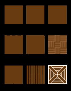 Les différents types de pose d'un parquet