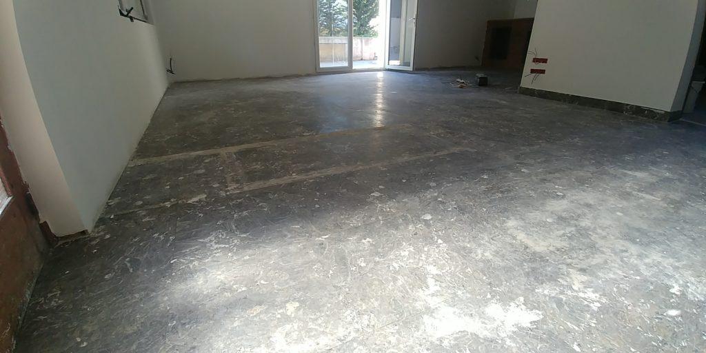 Avant la rénovation du marbre noir