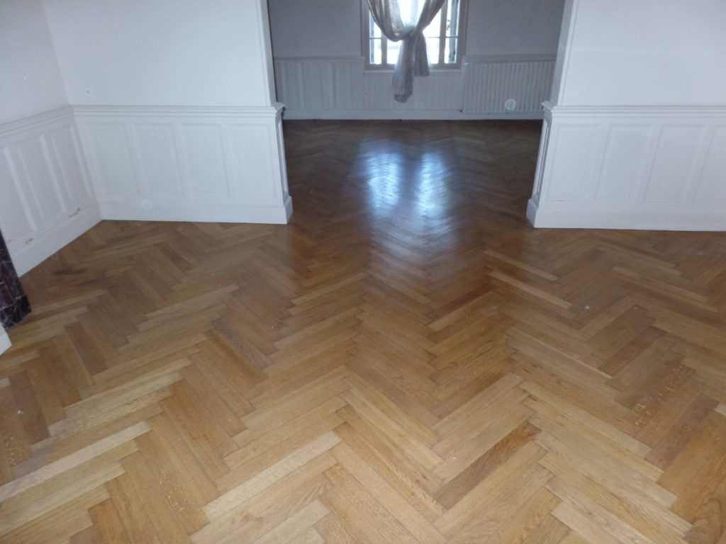 Avant la rénovation du parquet