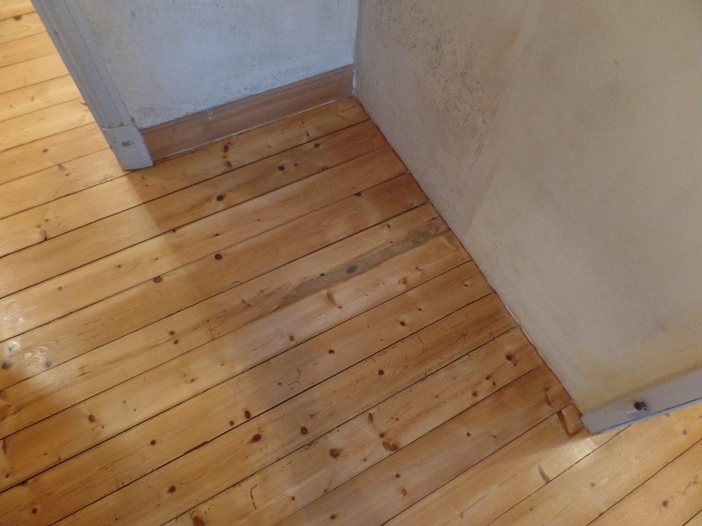 Après la rénovation du parquet chez un particulier à Châteauneuf-de-Gadagne